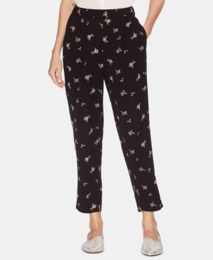Vince Camuto Pants PRINTED PULL-ON PANTS