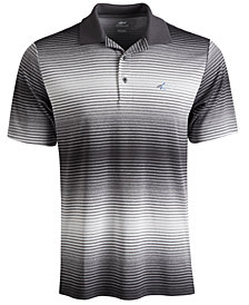 Attack Life by Greg Norman Lambert Ombré Stripe Polo
