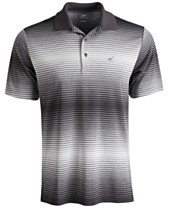f0705f867 Attack Life by Greg Norman Lambert Ombré Stripe Polo