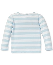 Polo Ralph Lauren Baby Boys Striped Cotton Long-Sleeve T-Shirt