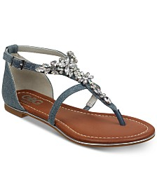 G by GUESS Deers Flat Sandals