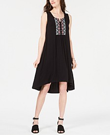 Petite Embroidered High-Low Dress, Created for Macy's