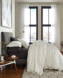 FlatIron Cotton/Linen Queen Duvet Cover