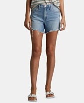 afbdc34e775 Silver Jeans Co. Distressed Frisco Denim Shorts