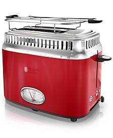 Retro Style 2-Slice Toaster