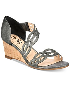 Lucca Lane Evan Wedge Sandals