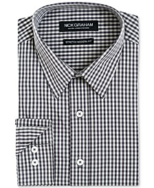 Men's Slim-Fit Gingham Shirt