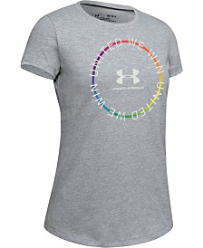 Under Armour Big Girls United We Win Pride T-Shirt
