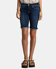 Silver Jeans Co. Suki Denim Bermuda Shorts
