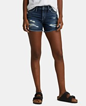 d7212c92 Silver Jeans Co. Suki Distressed Denim Shorts