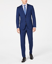 Men's Slim-Fit Stepweave Suit Separates