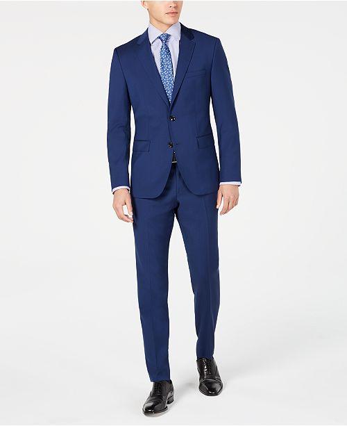 93c6f97d Hugo Boss Men's Slim-Fit Stepweave Suit Separates & Reviews - Suits ...