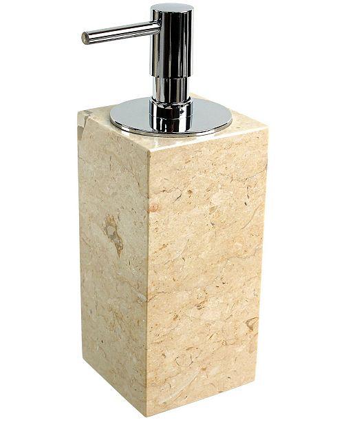 Nameeks Eucalipto Square Beige Soap Dispenser