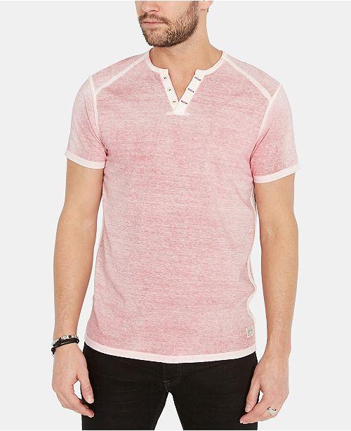 929601e5 Buffalo David Bitton Men's Kurox Henley T-Shirt & Reviews - T-Shirts ...