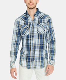 Buffalo David Bitton Men's Sihak Regular-Fit Plaid Shirt