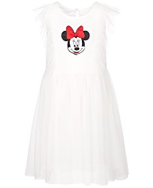 Disney Little Girls Clip Dot Minnie Mouse Dress, Created for Macy's