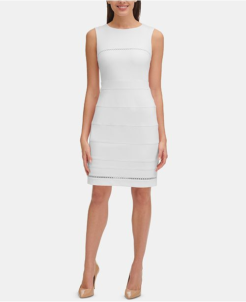 16c3d7c09dda Tommy Hilfiger Circle-Trim Dress & Reviews - Dresses - Women - Macy's