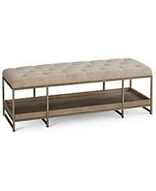 Sutton Place Upholstered Bench, Created for Macy's