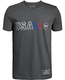 Under Armour Big Boys Freedom T-Shirt