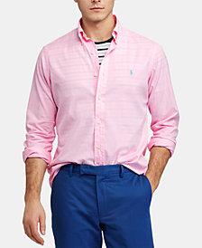 Polo Ralph Lauren Men's Classic Fit Garment-Dyed Twill Shirt