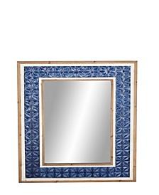 Modern Rectangular Framed Wall Mirror