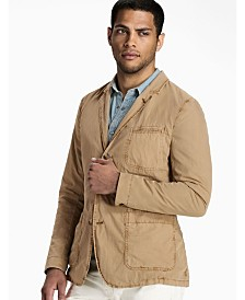 Lucky Brand Men's Ace Garment Dyed Blazer