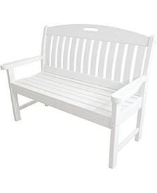 """Avalon All-Weather 48"""" Porch Bench - 37.5"""" x 51.75"""" x 64"""""""