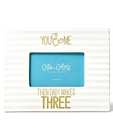 Coton Colors Stripe Frame You & Me Then Baby Makes Three