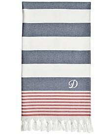 Personalized Patriotic Pestemal Beach Towel