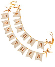 Martha Stewart Collection Harvest Gather Together Garland, Created for Macy's