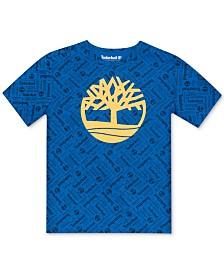 Timberland Big Boys Gorham Logo T-Shirt
