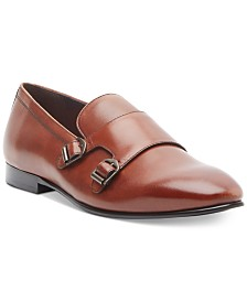 Tallia Men's Emmanuele Double-Monk Loafers