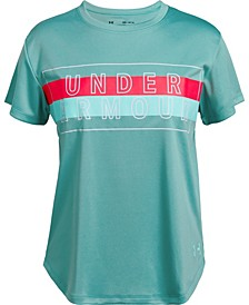 Big Girls UV Graphic T-Shirt