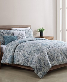 Claire 5 Piece Full/Queen Comforter Set