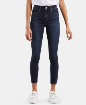Levi's Women's 721 Ankle High-rise Skinny Jeans In Carbon Bay