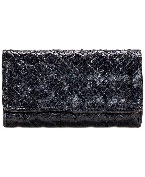 Patricia Nash Braided Stitch Terresa Wallet