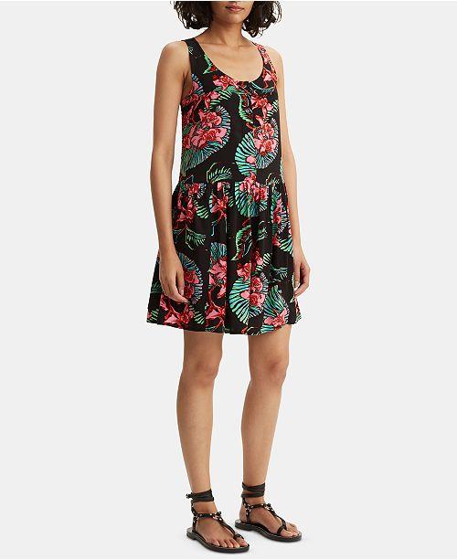 Levi's Chrissie Floral-Print Shirtdress