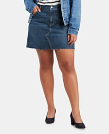 Levi's® Trendy Plus Size Denim Mini Skirt
