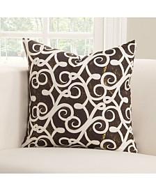 "Siscovers Sabine 20"" Designer Throw Pillow"