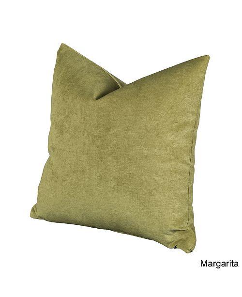 "Siscovers Padma Margarita 16"" Designer Throw Pillow"