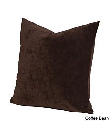 "Siscovers Padma Coffee Bean 16"" Designer Throw Pillow"