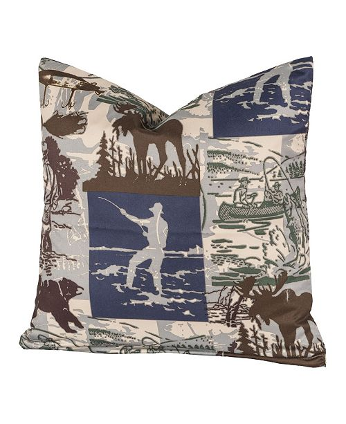 """Siscovers North Shore 16"""" Designer Throw Pillow"""