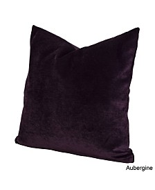 "Siscovers Padma Aubergine 26"" Designer Euro Throw Pillow"