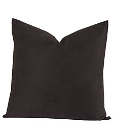 "Black 16"" Designer Throw Pillow"
