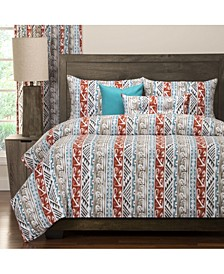 Navajo 5 Piece Twin Luxury Duvet Set