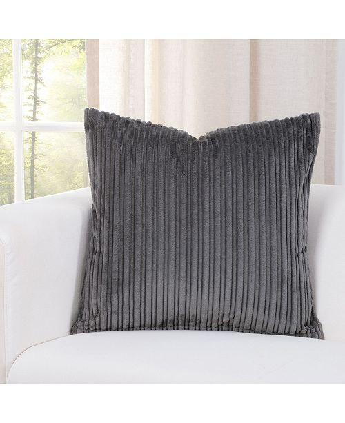 """Siscovers Downy Storm 20"""" Designer Throw Pillow"""