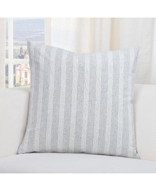 "Siscovers Homesteadm Indigo Farmhouse 20"" Designer Throw Pillow"
