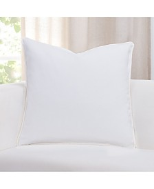 "Revolution Plus Everlast White 26"" Designer Euro Throw Pillow"