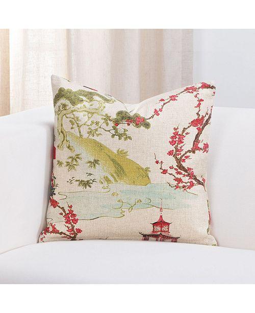 "Siscovers Zen 16"" Designer Throw Pillow"