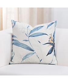 "Siscovers Tropical night 26"" Designer Euro Throw Pillow"